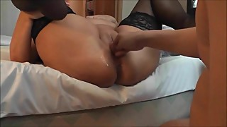 Fisting Wife Into A Epic Squirt