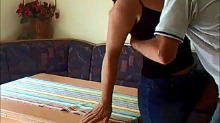Hot milf gets fucked on homemade