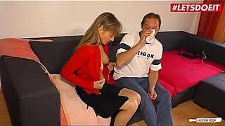 LETSDOEIT - Superb Mature German Lady In Cheating Sex Story