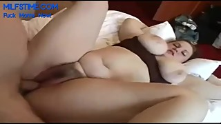 my plump wife with huge tits loves missionary position homemade
