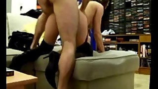 French milf fucked on homemade