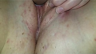 Redhead wife squirting at home