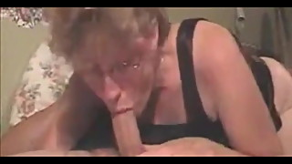 Wife Blow Job Makes Him Moan