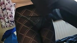 Dumb Pantyhose Bitch Dressing 01