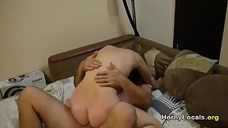 Homemade blonde wife with friend