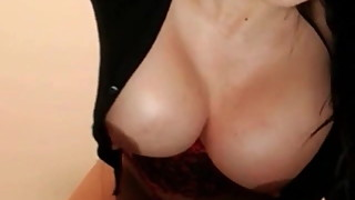 My MILF Exposed Busty Latina with dildo up her ass