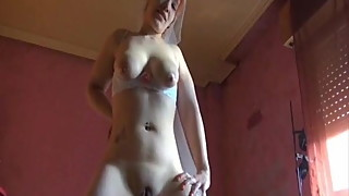 Bride chubby blowjob spanking homemade