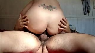 Horny wife gets creampied