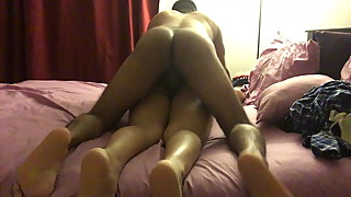 A good pounding for Latina wife