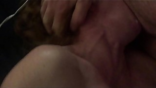 Sweet slutty wife fucks hubby while stranger cums in her face