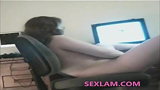 wife dildo before an unknown webcam