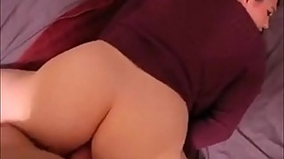 Penetrating Deep Into her Plump Ass POV