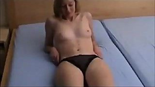 Amateur shy wife on homemade sex tape