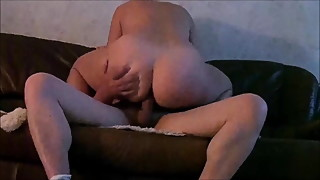Fat ass wife fucked on spy cam.