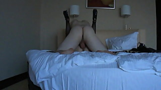 Horny woman fucks