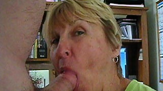 Granny Sonny sucking cock