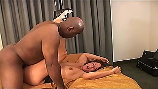 Sexy mature latina wife shared in hot interracial threesome