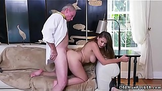 Homemade amateur wife dp Ivy impresses with her fat hooters and ass