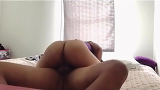 She rides dick so good it makes her orgasm
