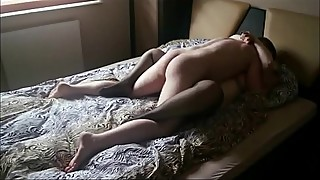 Amateur BBW having fun with her hubby