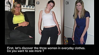 Make your choice #9 : which of these 3 women would you fuck?