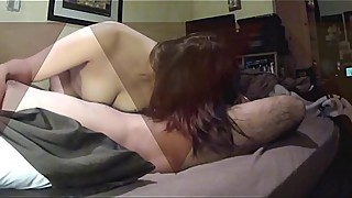 Amateur Wife Shared with Stranger Strip and Blowjob